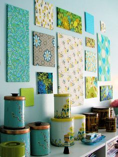 When a fresh coat of paint just isn't enough, bring life to your walls with one of these easy projects.
