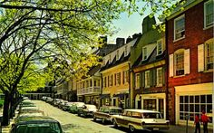 Oh the memories of walking, shopping, hanging out in little coffee shops, and eating at Winberie's in Palmer Square. Good times!  Princeton, NJ