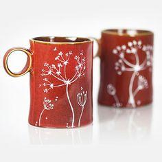 "2 Tazas de cerámicas ""Autumn"""