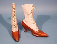 "Woman's Boots, about 1914.  ************Boots are moving to a new board, ""Antique Boots & Shoes"""
