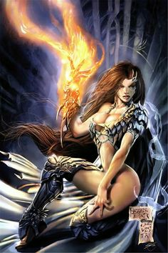 michael turner and marc silvestri - witchblade