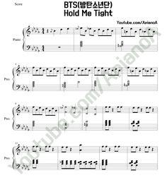 ApianoA Kpop Piano Cover: BTS - Hold Me Tight piano sheets