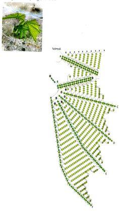 Схема плетения дракона из бисера/3881963_drakon_shema_1 (393x700, 74Kb)
