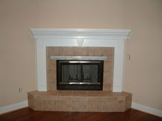 Corner Fireplace Mantels Wood | Fires of Tradition | Mantels for ...