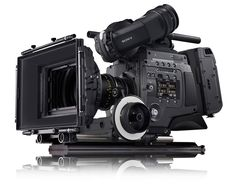 F65 with recorder SR-R4, new 8K caméra by SONY