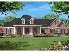 ePlans French Country House Plan– Elegant French Country Four Bedroom – 2500 Square Feet and 4 Bedrooms from ePlans – House Plan Code HWEPL77220