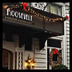 #Holidays are almost here at the #RooseveltHotel_NO