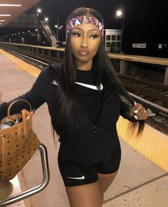 You are in the right place about black girl fashion denim Here we offer you the most beautiful pictu Swag Outfits For Girls, Cute Swag Outfits, Tomboy Outfits, Chill Outfits, Dope Outfits, Casual Fall Outfits, Athletic Outfits, Fashion Outfits, Basic Outfits