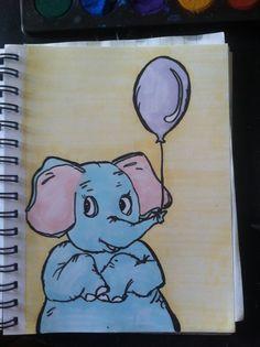 Tegning til børneværelse