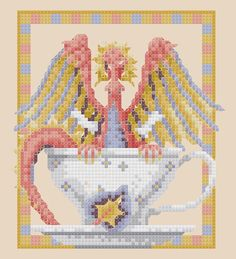 Free cross-stitch design 'Tempest' Fabric: 28ct. Antique White Lugana Grid Size: 68W x 75H Design Area: 16,26 cm x 18,03 cm Download You might also like
