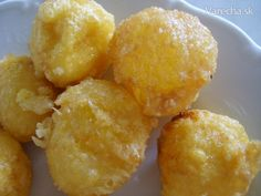 Syrové guličky do polievky (fotorecept)