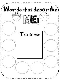 What the Teacher Wants!: Hey! You're Great! Self esteem unit.