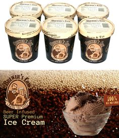 Beer Ice Cream! Hell Yeah!