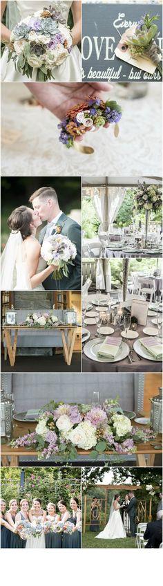 Philadelphia Wedding Florist - A Garden Party Florist - Morris Arboretum - Michele Moran Photography - custom wedding arch - rose wedding flowers - white hydrangea - succulent wedding - floral jewelry