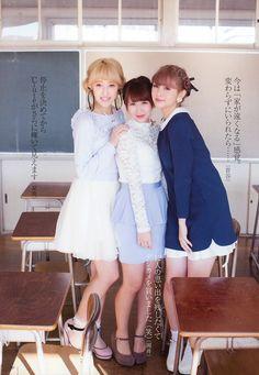 Miyabi, Chisato, Risako