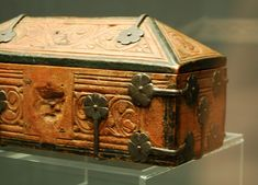 The Museum fur angewandte Kunst in Cologne, Germany has a large collection of small medieval caskets, often called 'Minnekästchen', especial...