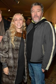 Franca Sozzani and Philippe Starck at Kartell goes Taschen Event