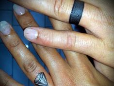 99001a5eb 150 Charming Wedding Ring Tattoos Designs cool Check more at  http://fabulousdesign.