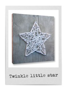 Website about String Art Crafts. We post ideas, tutorial, videos, free patternas and templates to make DIY String Art. Diy For Kids, Crafts For Kids, Arts And Crafts, Diy Crafts, Holiday Crafts, Christmas Crafts, Christmas Star, Nail String Art, String Art Patterns