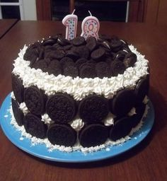 Oreo Cookie Cake For My Teens Birthday Decorating Ideas 18 Boy Girl