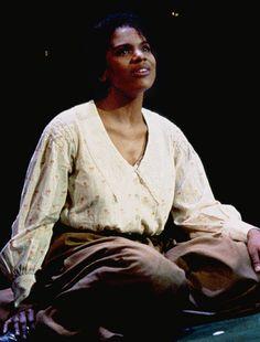Audra McDonald in Carousel (1994).