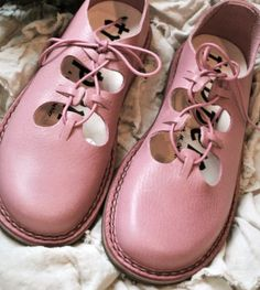 pink leather Trippen I had a pair of shoes when I was young that looked like this.. Loved them!