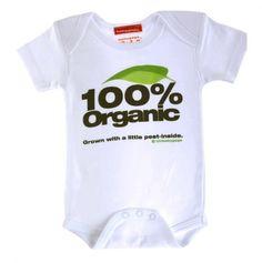 Organic Baby Onesie.