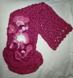 Bufanda crochet mujer
