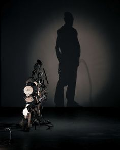 Shadow Sculptures made of Rubbish