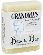 Remwood Products Co. - Grandma's Pure & Natural Beauty Bar Lavender/Oatmeal -