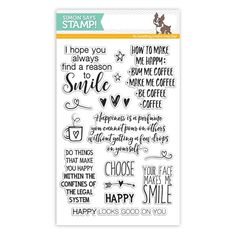 RESERVE Simon Says Clear Stamps CHOOSE HAPPY SSS101617 Reason To Smile Preview Image