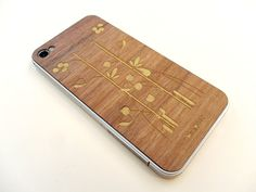 Real Wood  iPhone 4/4s also available for door microwoodproducts