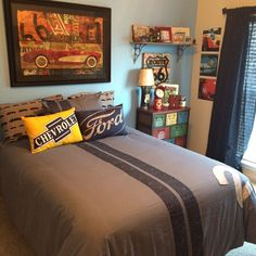 Big Boy Room, Cars, Racing, Retro