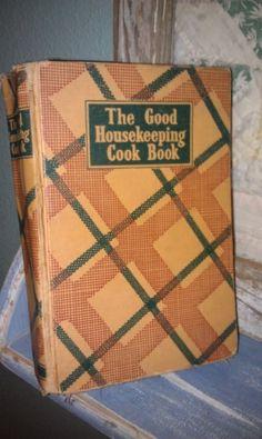 Vintage Cookbook The Good Housekeeping Cook Book 1944