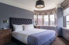 Junior Suite Guest Room at The Boxer Boston Hotel, our newest luxury hotel
