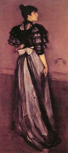 Mother of pearl and silver: The Andalusian. By James Whistler