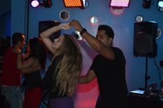 Latin Night At Ice Martini Bar #dancing #salsa