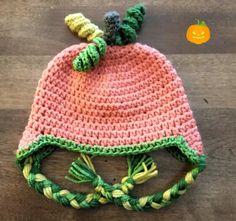 Punkin' Ear-Flap Toddler Hat