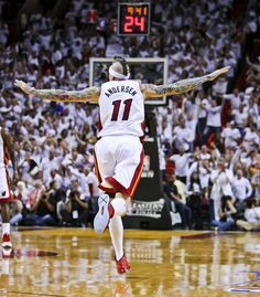 "Miami Heat's Chris Anderson, better known as ""Birdman"" Miami Heat Basketball, Love And Basketball, Sports Basketball, Chris Andersen, Heat Fan, Miami Marlins, American Sports, Nba Champions, Home Team"