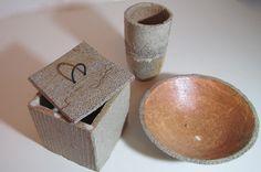 Salzbrand silke-freitag.de Keramik Design, Place Cards, Place Card Holders, Ceramics, Ceramica, Pottery, Ceramic Art, Porcelain, Ceramic Pottery