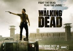 """The Walking Dead - guilty pleasure - probably not most Pinterest users' favorite show, but this is good stuff. Stars Brit Andrew Lincoln from """"Love Actually"""""""