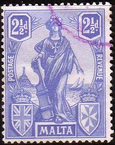 Malta 1922 SG 129 Britannia Fine Used Scott 104 Other European and British Commonwealth Stamps HERE!