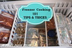 Freezer Cooking 101 Tips & Tricks to Get Started and Get Better Results!