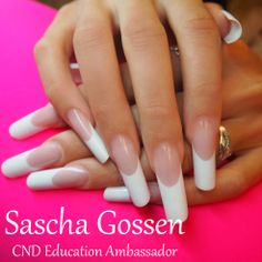 Training 24-6-2014 #CND #CNDWorld #FrenchManicure #French #competitionnails #CNDcompetitionteam #enhancements #ccurve #CNDNederland