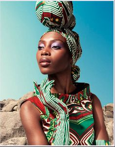 If you want beautiful/fun/colorful, try Vlisco. Check out the gloves! African Inspired Fashion, Africa Fashion, Ethnic Fashion, Urban Fashion, African Beauty, African Women, African Style, Style Turban, Head Band