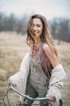 Railroad Printed Overall styled by FP Me user laurenmetelitz on #fpme #freepeople