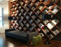 24 Cozy Library Designs For The Home (5)