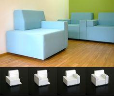 modular chair from kibardin design