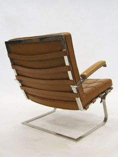 continuarte:  Tugendhat chair Mies van der Rohe