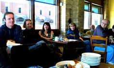 Gathered at La Madeline Feb 11 to talk about intentional communties forming in & near Dallas.